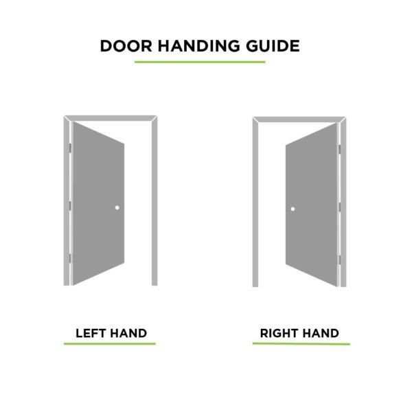6-Panel Prehung Interior Door