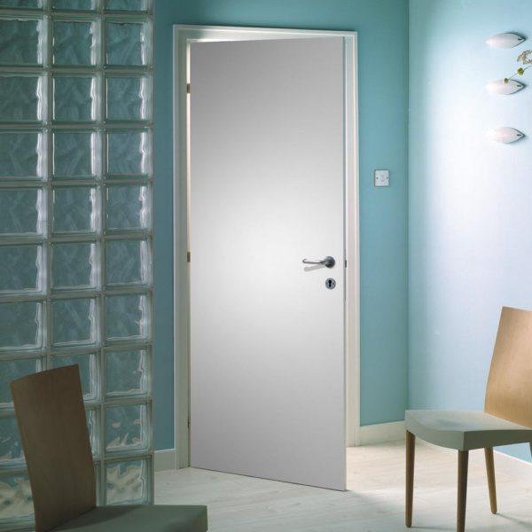 Primed Smooth Flush Hardboard Hollow Core Composite Interior Door Slab with Bore