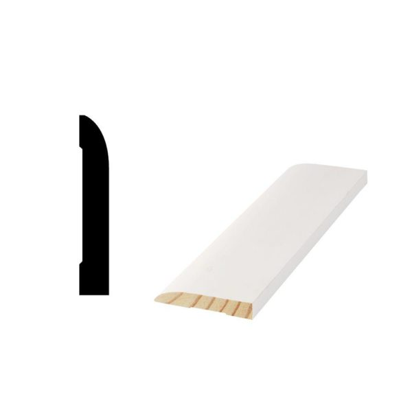 Primed Finger-Jointed Base Molding WM713 5/8 in. x 3-1/4 in. 10 PC OF 16FT